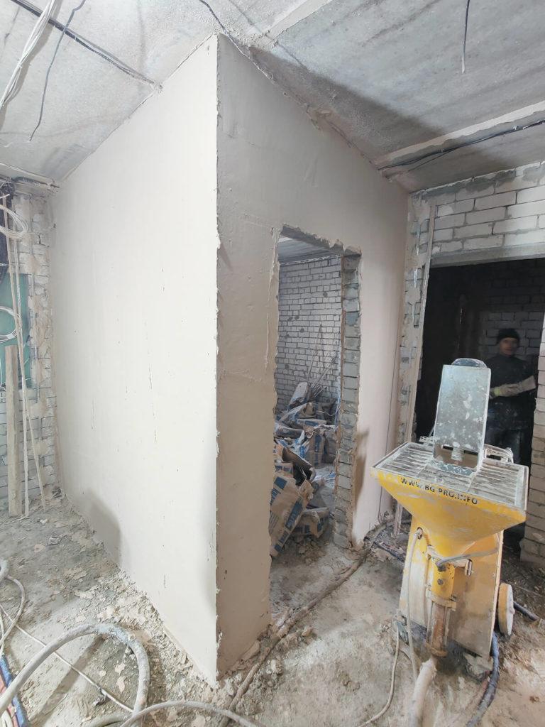 Оборудование для машинной штукатурка стен Харьков
