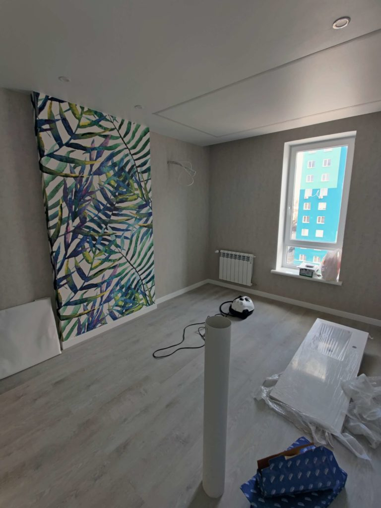 Уборка после ремонта в комнате Харьков