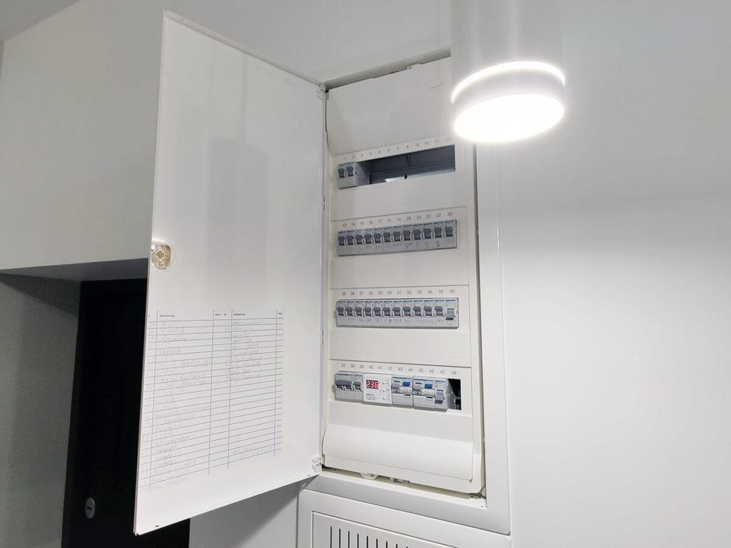 Установка электрических щитков, автоматических выключателей и УЗО в Харькове