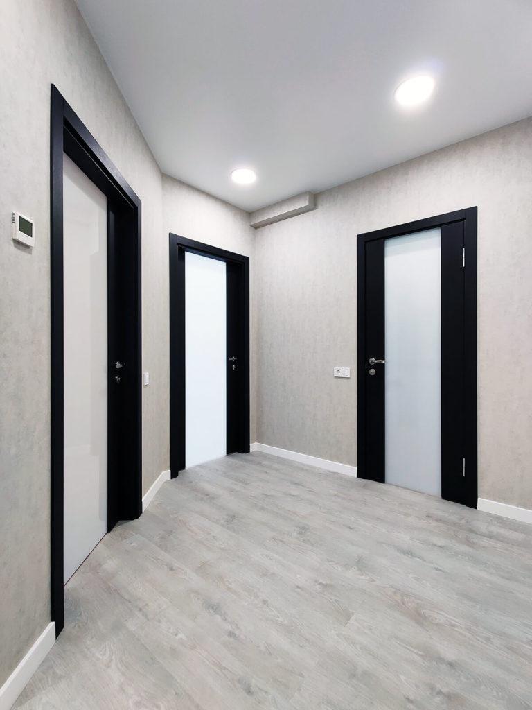 Ремонт в коридоре в однокомнатной квартире