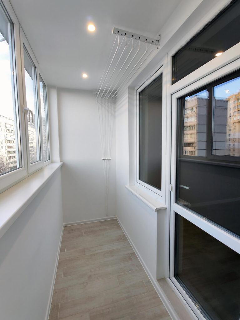 Ремонт балкона в однокомнатной квартире