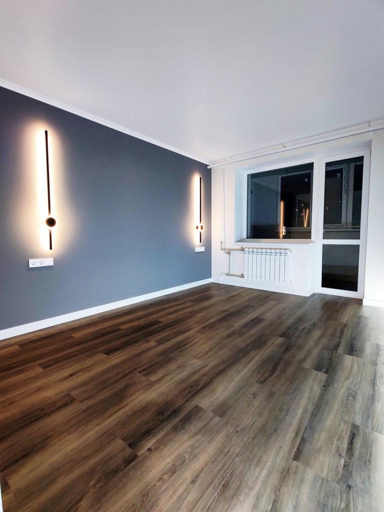 Ремонт трехкомнатной квартиры — ремонт комнаты