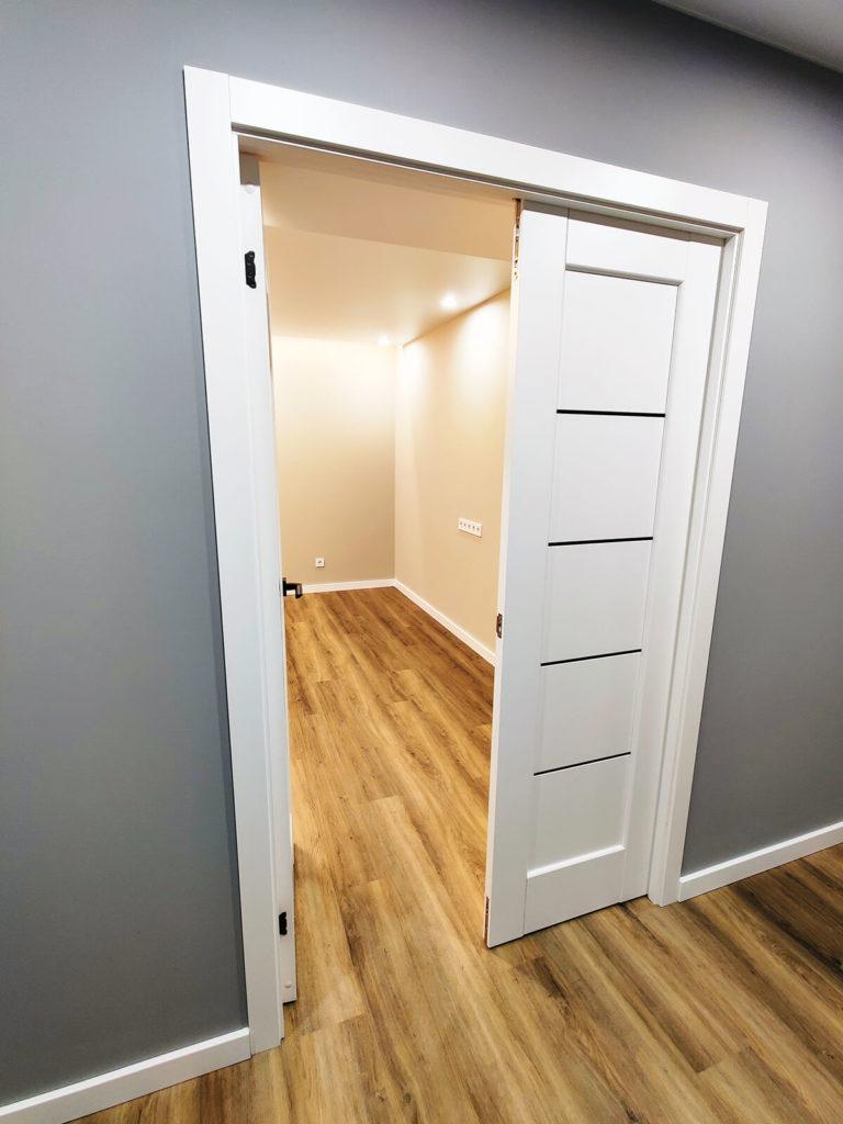 Ремонт прихожей в трехкомнатной квартире