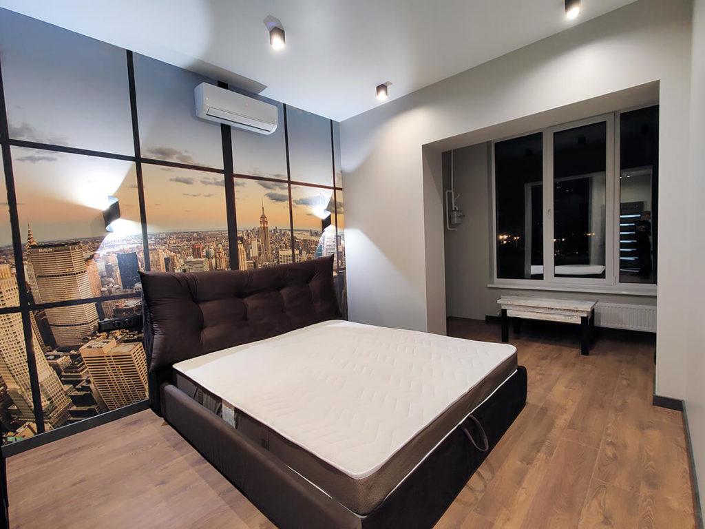 Ремонт в новостройке в спальне